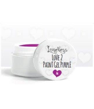 Loveness Paint Gel 10 Purple
