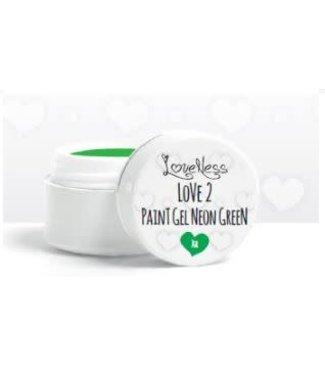 Loveness Paint Gel 09 Neon Green