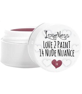 Loveness Paint Gel 14 Nude Nuance