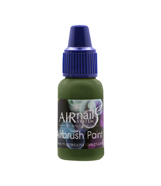 Magnetic AirNails Paint 52 Jungle 10 ml.
