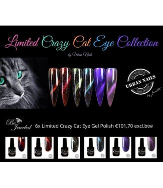Urban Nails Limited Crazy Cateye Collection Gelpolish
