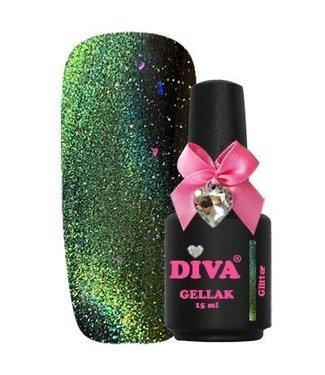 Diva 15 Cat Eye 9D Glitter 15 ml.