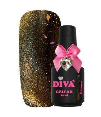 Diva 13 Cat Eye 9D Shimmer 15 ml.