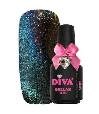 Diva 16 Cat Eye 9D Glossy 15 ml.