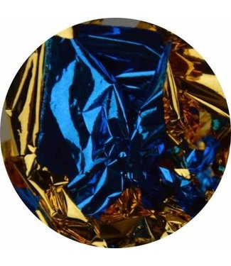 Urban Nails Bladgoud blauw/goud