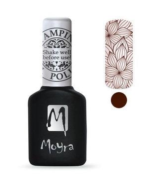 Moyra Stempel Gelpolish 09 Brown