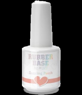 Loveness Rubber Base Dazzling Peach #LVS