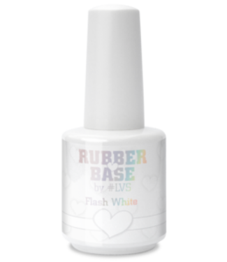 Loveness Rubber Base Flash White #LVS