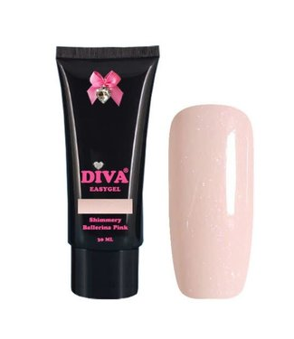 Diva Easygel Shimmery Ballerina Pink 30 ml.