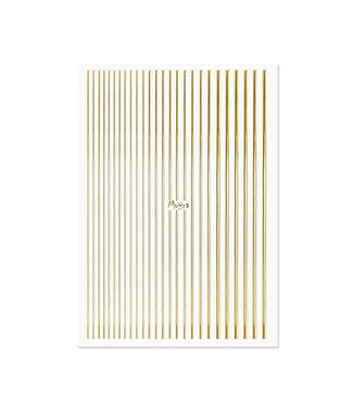 Moyra Nail Art Strips Goud 01