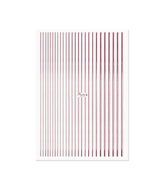 Moyra Nail Art Strips Rose Gold 03