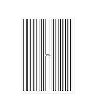 Moyra Nail Art Strips Black 05