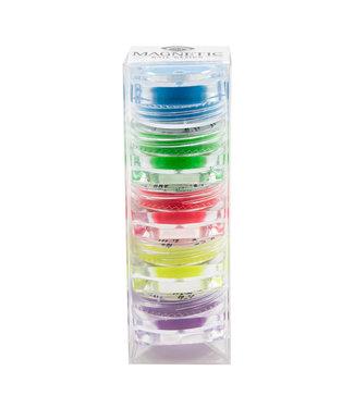 Magnetic Set Neon Pigmenten 6 stuks