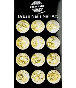 Urban Nails Charms Gold