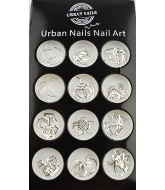 Urban Nails Charms Silver
