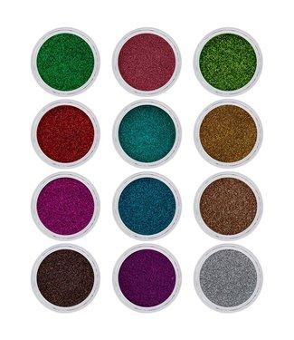 Magnetic Nail Design Glitter Kit Spring 12 stuks