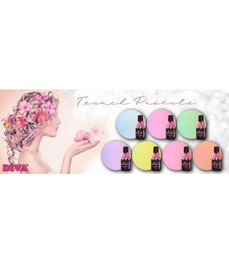 Diva Pastel Collection 7 st.