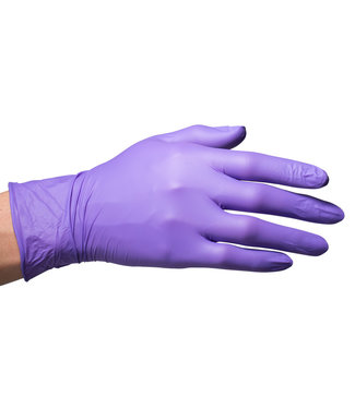 Handschoenen Nitril Paars 50 st.