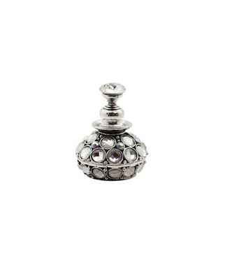 Magnetic Nail Design Nailart Display Rhinestones Silver