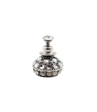 Magnetic Nailart Display Rhinestones Silver