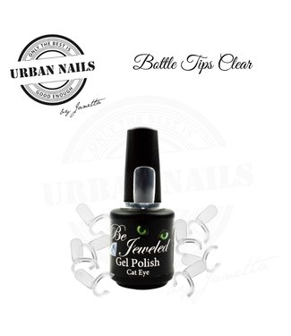 Urban Nails Bottle Tips Clear 50 st.