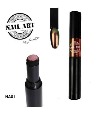 Urban Nails Chrome Pigment Pen 01