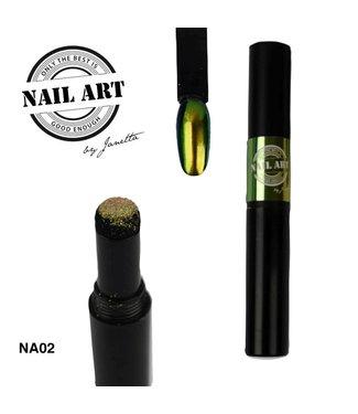 Urban Nails Chrome Pigment Pen 02