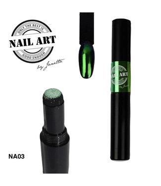 Urban Nails Chrome Pigment Pen 03