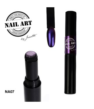 Urban Nails Chrome Pigment Pen 07