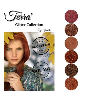 Urban Nails Terra Glitter Collection by Janetta