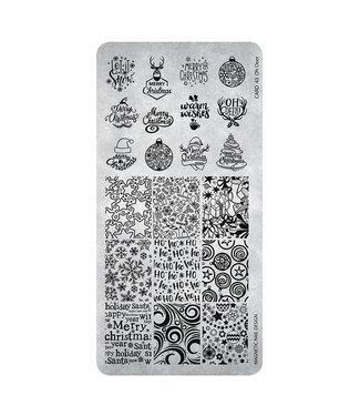 Magnetic Nail Design Stempelplaat 43 Oh Deer