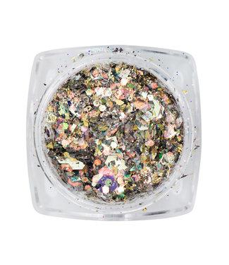 Magnetic Mirror Inlay Golden Brown