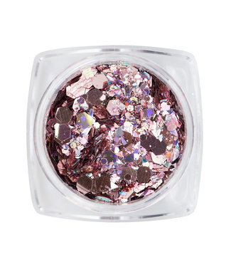 Magnetic Mirror Inlay Pink