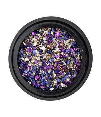 Magnetic Nail Design Special Inlay Purple