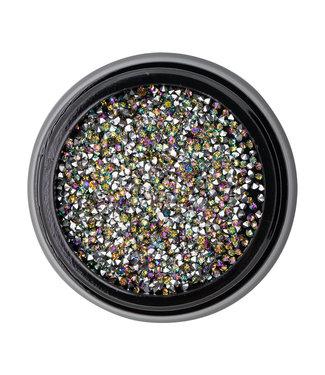 Magnetic Nail Design Inlay Aurora Borealis