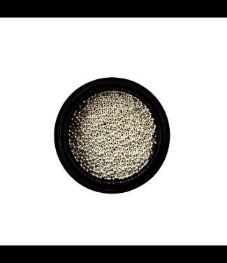 Urban Nails Caviar Beads Zilver 1 mm.