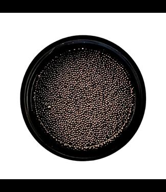 Urban Nails Caviar Beads Gun Metal Black 0,4 mm.
