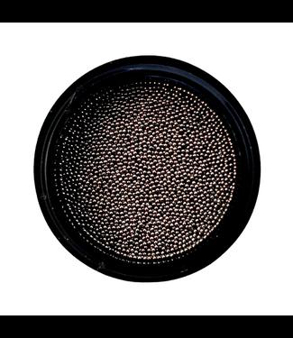 Urban Nails Caviar Beads Gun Metal Black 0,6 mm.