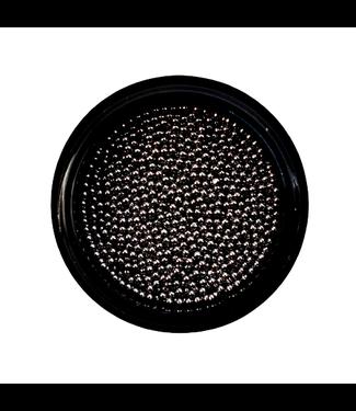 Urban Nails Caviar Beads Gun Metal Black 1 mm.