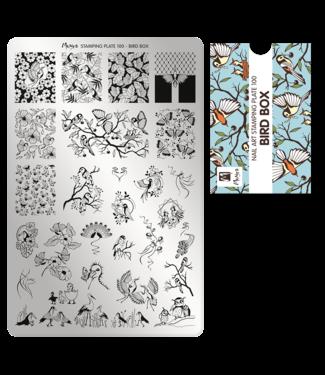 Moyra Stempelplaat 100 Bird Box