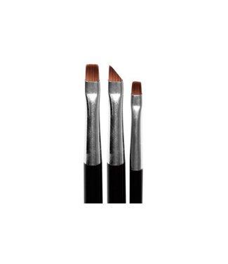 Magnetic Nail Design One Stroke / Flower Brushes 3 st.