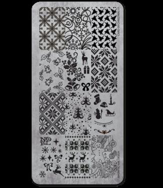 Magnetic Nail Design Stempelplaat 09 Christmas #1