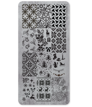 Magnetic Stempelplaat 09 Christmas #1