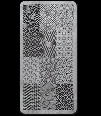 Magnetic Stempelplaat 06 Geometric