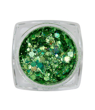 Magnetic Metal Inlay Green