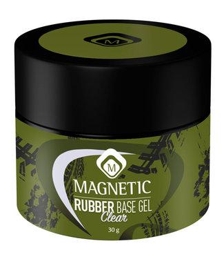 Magnetic Nail Design Pot Rubber Base Clear 30 gr.