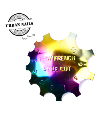 Urban Nails Rainbow Easy French Smile Cutter nr 1.