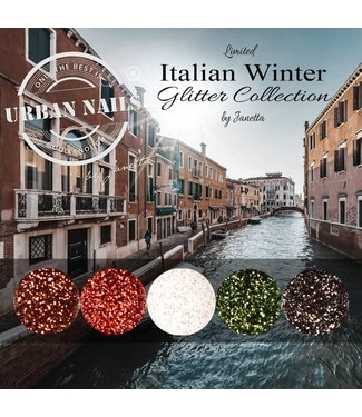 Urban Nails Italian Winter Glitter Collection