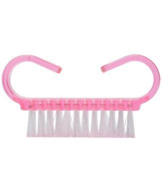 Mini nagelborstels 3 stuks Roze
