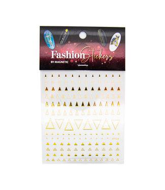 Magnetic Nail Design Fashion Sticker Triangle